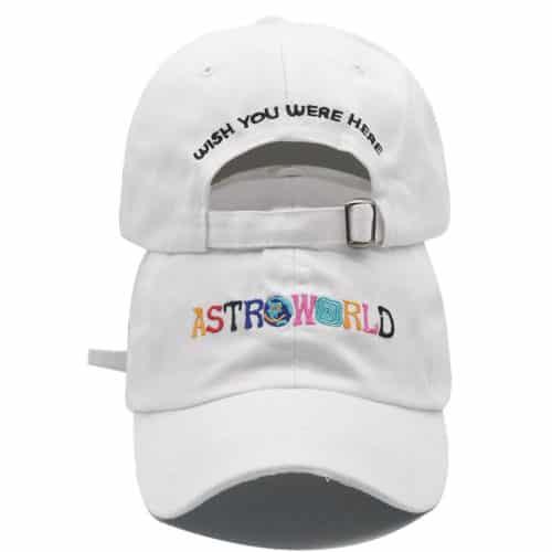 Astroworld Hat White