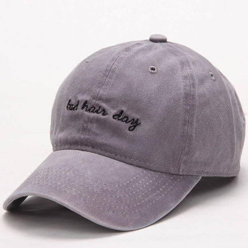 Bad Hair Day Hat Gray
