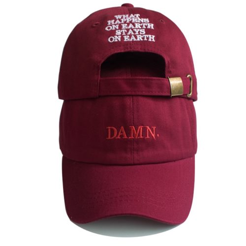 Damn Hat Wine Red