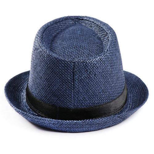 Navy Fedora Hat