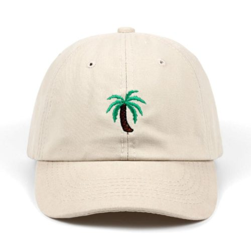 Palm Tree Hat Beige