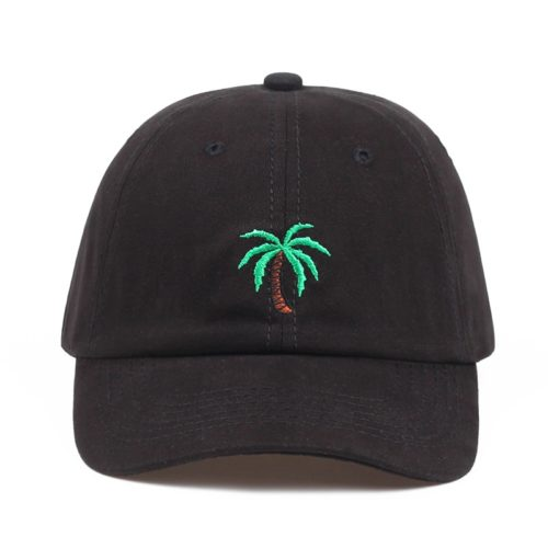 Palm Tree Hat Black