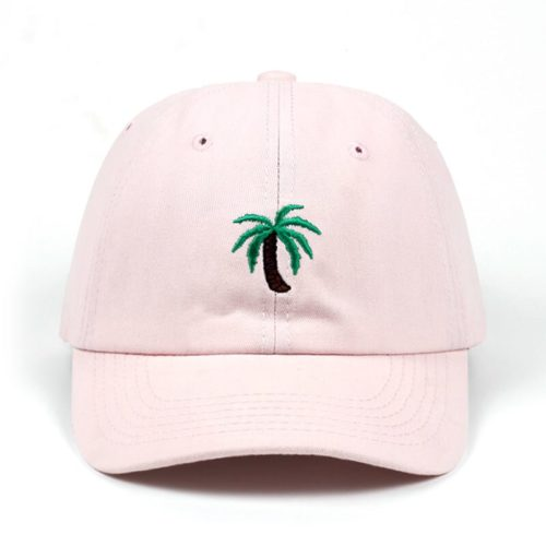 Palm Tree Hat Pink