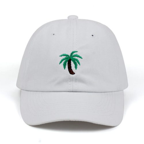 Palm Tree Hat White