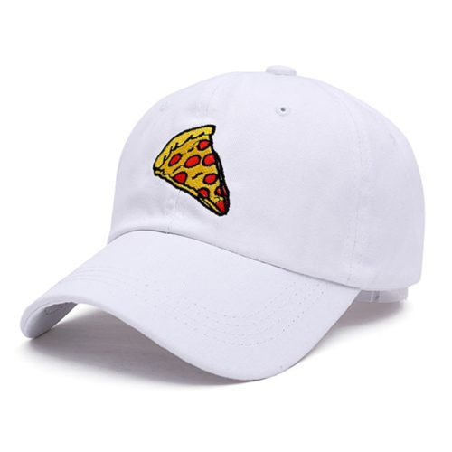 Pizza Hat White