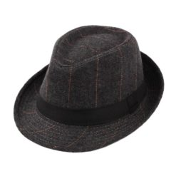 Pork Pie Fedora Black