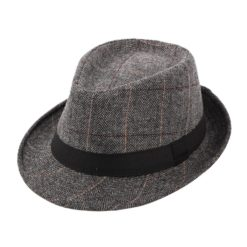 Pork Pie Fedora Grey