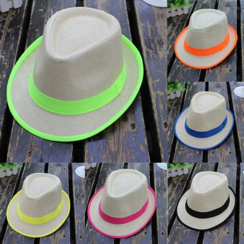 Straw Fedora Hats For Women