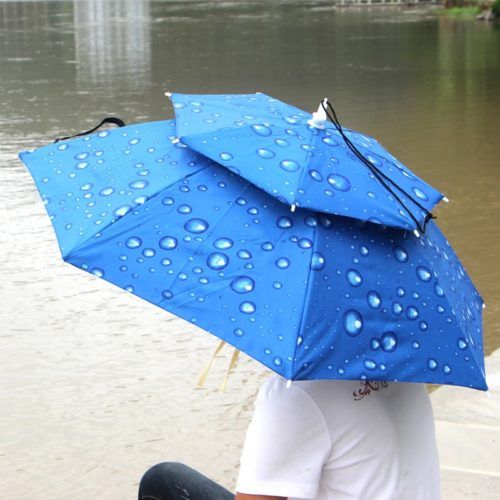 Umbrella Hat for Travel