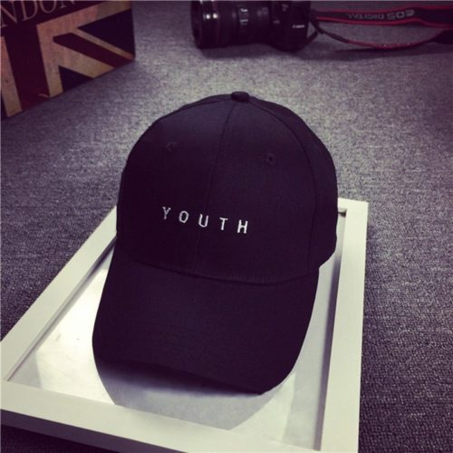 Youth Hat Black