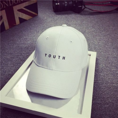Youth Hat White