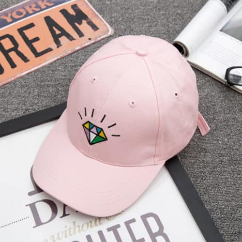 Diamond Hat Pink