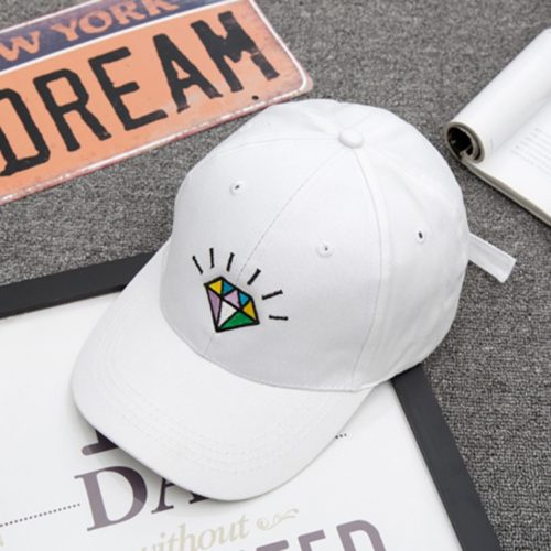 Diamond Hat White