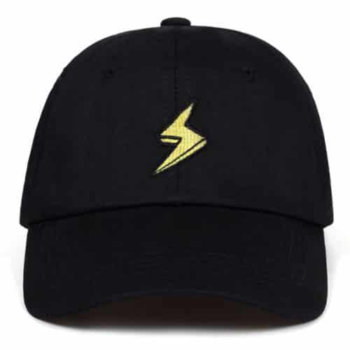 Lightning Hat Black